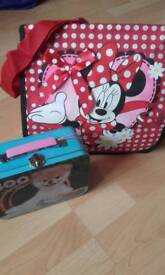 🐶 CHILDS LUNCH BOX & DISNEY BAG 🐶
