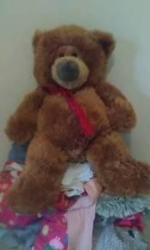 Large teddy bear.
