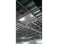 600 X 600 LED LIGHT PANEL COMMERCIAL CEILING OFFICE/SHOP (£12 EACH OR £100 FOR 10)