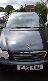 Mercedes Benz C Class automatic,black