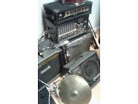 music gear / job lot of music gear