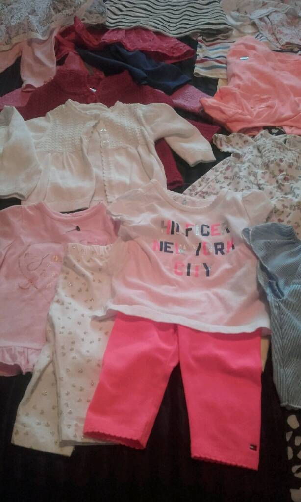 Baby Bundle of Girls Clothes Some New