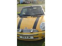MINI.1.6 CONVERTIBLE 2007. Good Condition,serviced every year,New tyres,New exhaust.Low miles.