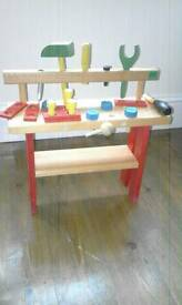 Workbench for young child