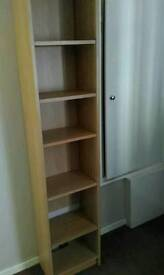 Tall CD,DVD bookcase storage unit