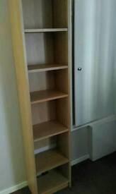 Tall CD,DVD bookcase storage unit