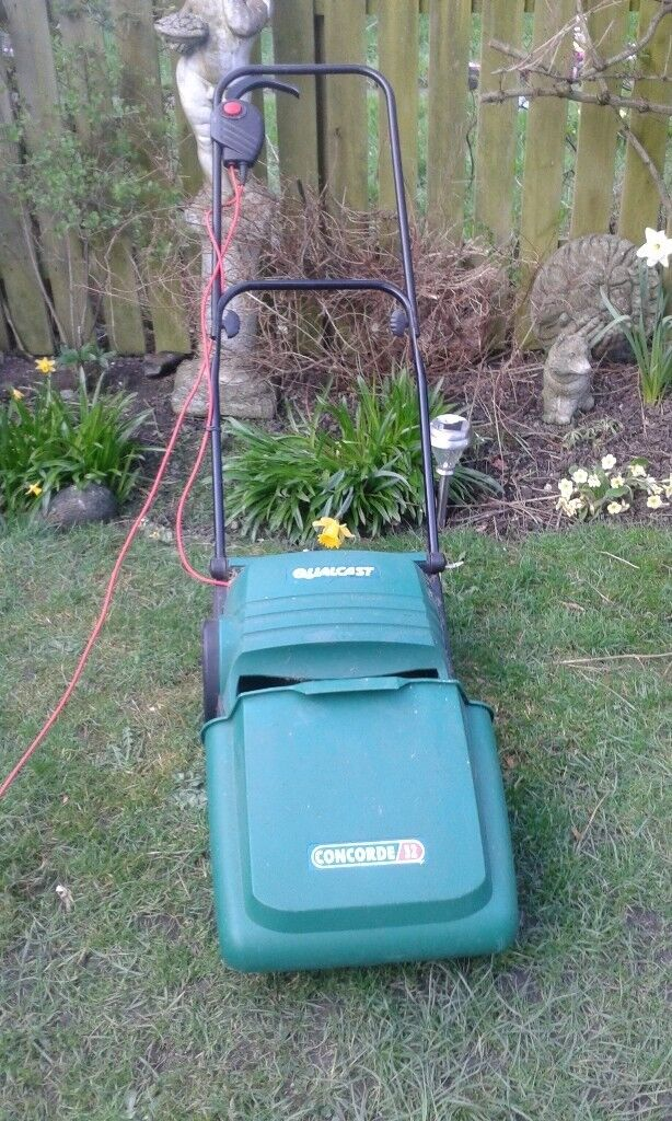 QUALCAST ELECTRIC CYLINDER LAWNMOWER FOR SALE. COULD DELIVER.
