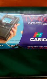 CASIO rectro miniature TV , boxed in mint condition