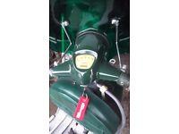 lambretta 125 british racing green