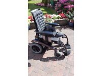 Electric Wheelchair, Excel Airide Compact, hardly used, joystic control, seat belt, adjustable seat