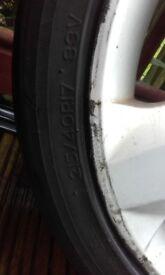 Vauxhall wheels/tyres