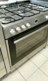 Flavel grey range cooker in excellent condition and comes with 1 Month GUARANTEE