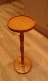 Solid Real Wood Side Table Stand