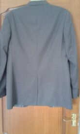 Mens grey jacket good condition medium to large