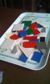 Lego flat plates