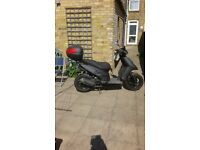 Piagio 50 cc scooter 2012 very good cond. Owner retiring from biking