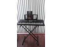 YPT-220 Yamaha Keyboard with stand and songbook!!