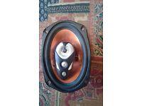 2 car speakers