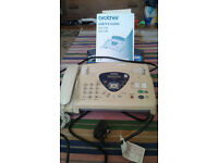 Brother T96 Fax machine and answer phone