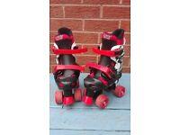 Boys roller skates Size 1-4