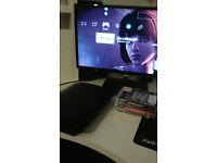 Ps3 superslim 80gb + GTAV + 3 other games MINT