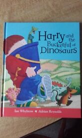 Harry And The Bucketful Of Dinosaurs Book And CD