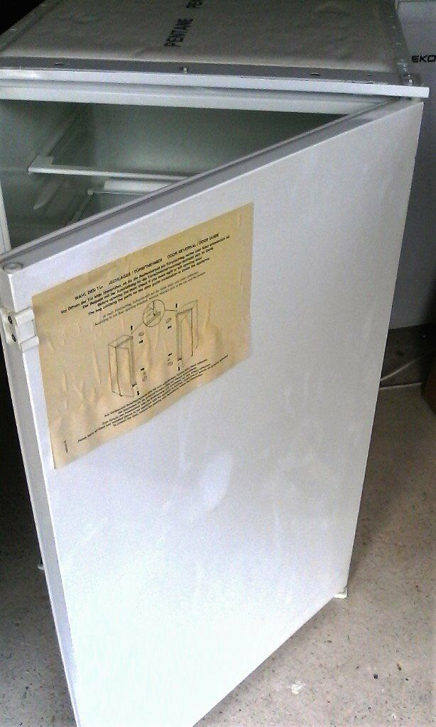 Integral fridge