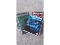 The Wire Seasons 1-4 DVDs