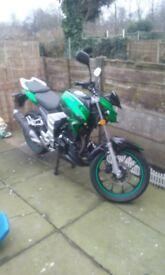 lexmoto venom sk 125 cc