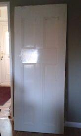 Vintage pine door