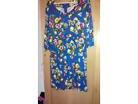 Joules dress with pockets size 16