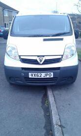 Vauxhall Vivaro six seater van 12 months mot