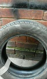 two tyres