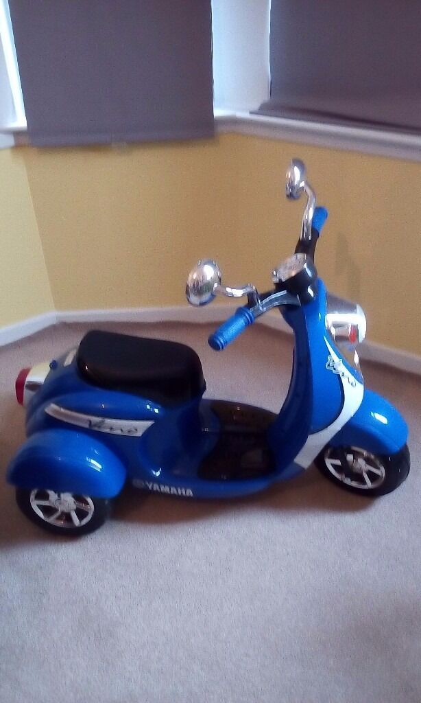 Yamanha electric 3 wheel scooter ride on- Accept Offers ...