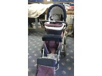 3 in 1 pram /pushchair