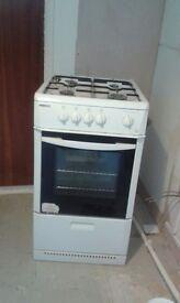 Freestanding Beko gas cooker