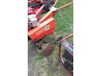 2X Rotavators, Wolesly Merry Tiller also Honda both selling as one lot.