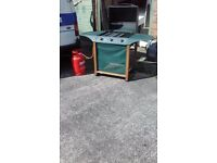 Gas Fired Barbecue For Sale - Almost as new with full gas bottle - Get ready for mini heat wave LOL
