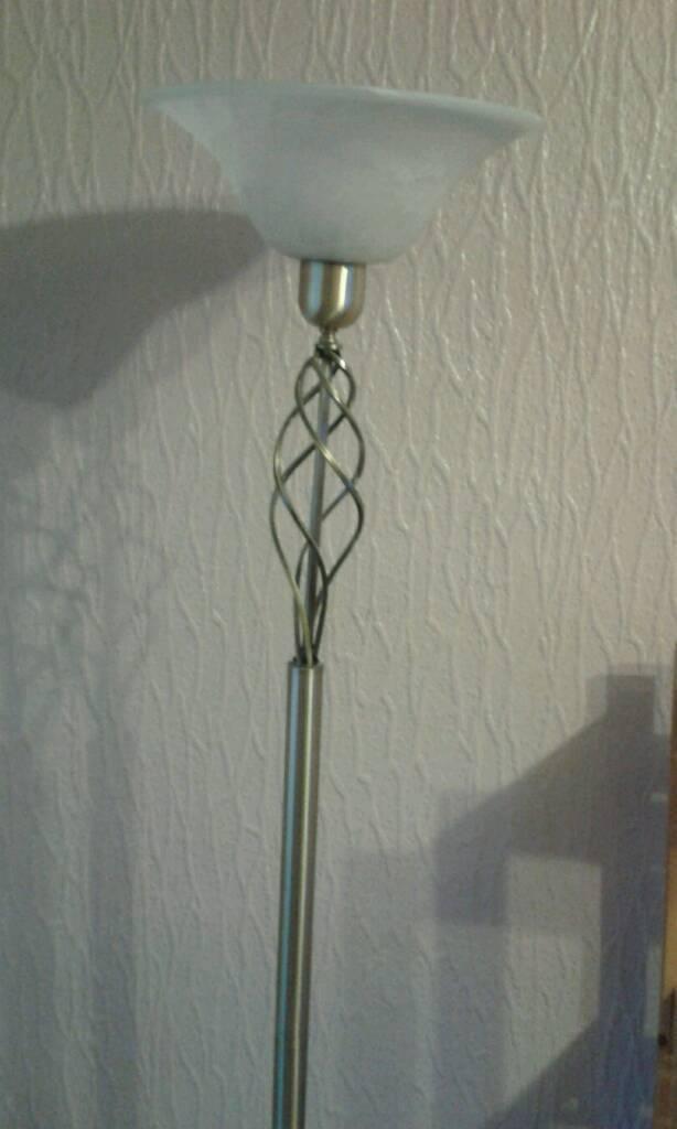 Tall lamp and shade