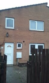 Spacious 3 bedroom house to let. No application fees. DSS welcome. Pets welcome. Stargate Close.