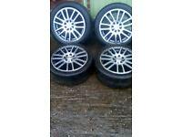 Alloy wheels 15 inc