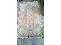 Handmade Turkish Wool Rug Traditional 114cm x 201cm