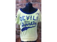 Superdry Size S Batwing short sleeve T shirt Top