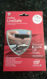 McAfee LiveSafe 2015 antivirus software