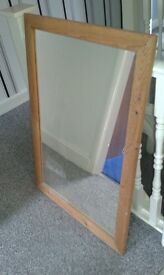 Wall mirror - plain