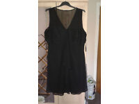 Ladies Black Teatro Evening Dress Size 22