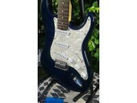 """Electric guitar Strat copy by Encore """"Spotless"""""""