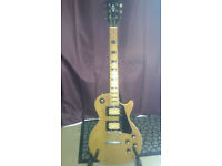 Unnamed Mystery Electric Guitar - Something of a Gibson Copy.