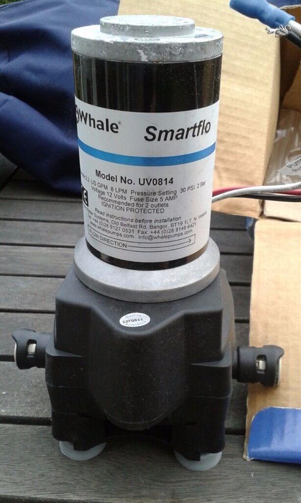 Whale Smartflo Caravan Water Pump Uv0814 In Sandiacre