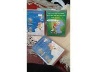 4 x Christmas cards boxes